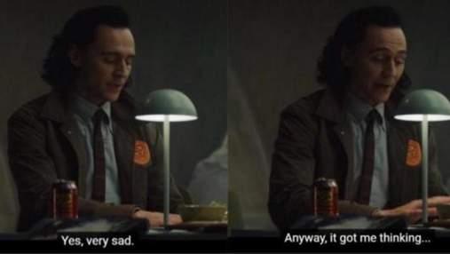 """Неприхована байдужість: кадр з серіалу """"Локі"""" перетворився на мем"""