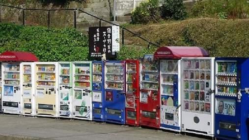 Можно купить шапку для кота, куртки, яйца: подборка странных торговых автоматов со всего мира