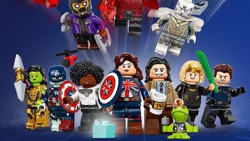 LEGO представила колекційні мініфігурки за серіалами Кіновсесвіту Marvel: коли будуть доступні