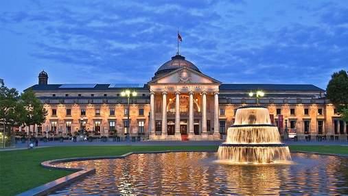Wiesbaden Kurhaus: історія одного з найстаріших казино у Німеччині