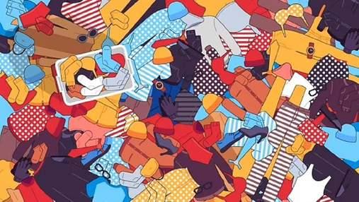 Головоломка недели: иллюстрация, которая взята из жизни – где мой второй носок