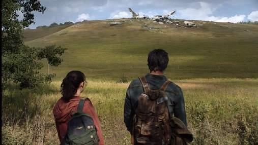 Похоже на скриншот игры: появился первый кадр из сериала по игре The Last of Us с Элли и Джоэлом