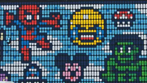 Художник меняет реальность благодаря пиксельным рисункам: фото веселого искусства