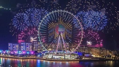 """""""Дубайский глаз"""": в ОАЭ открыли крупнейшее колесо обозрения в мире – умопомрачительное видео"""