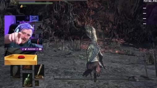 Перемога однією кнопкою: стример пройшов Dark Souls 3 за допомогою азбуки Морзе